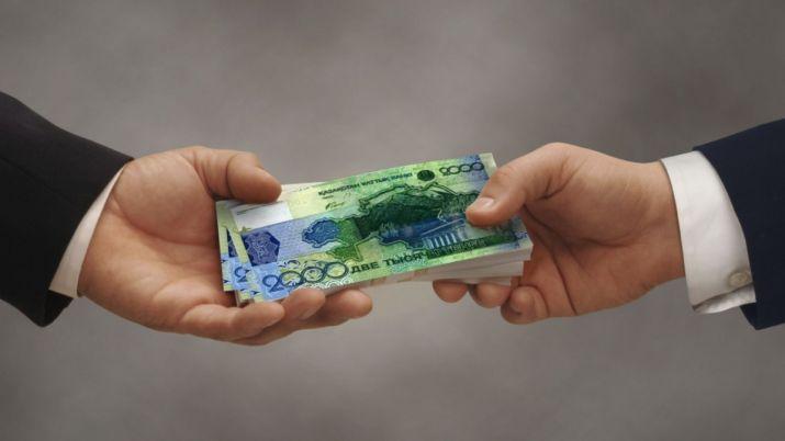 Жамбылский чиновник получил 1,5 млн тенге штрафа за взятку в 47 тысяч